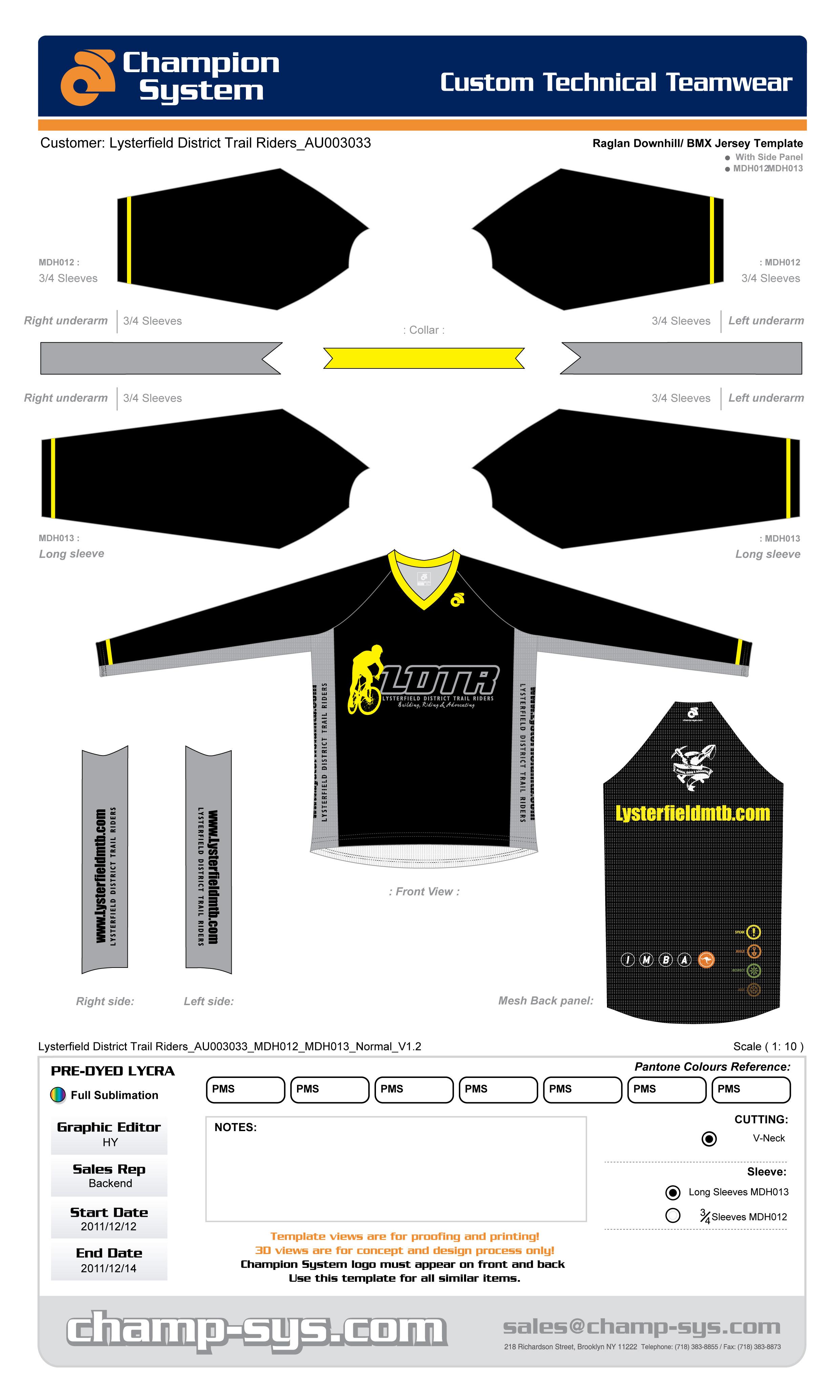 bmx jersey custom templates - Pairs and Spares